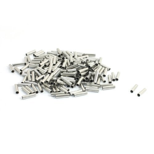 200Pcs EN2508 estaño tubo recubierto Bare Terminal 14 AWG Conector Wire: Amazon.com: Industrial & Scientific