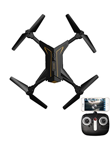 Unmanned four-axis aircraft, UAV with mobile remote control, HD camera, quadrocopter