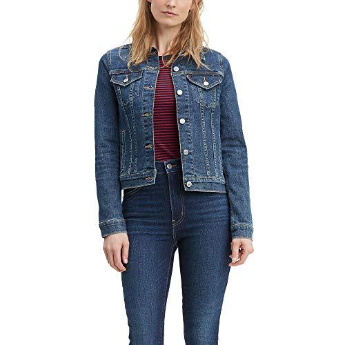 Levi's Women's Trucker Jackets Original, Sweet Jane, Large (Vintage Blue Jean Jacket)
