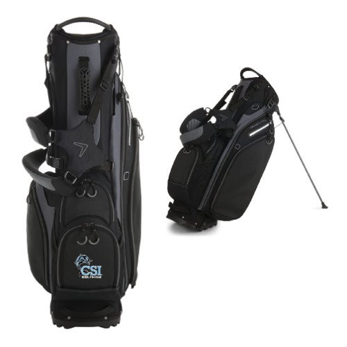 College of Staton Island Callaway Hyper Lite 5 Black Stand Bag 'Official Logo' by CollegeFanGear