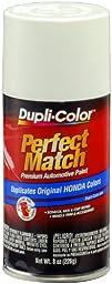 Dupli-Color BHA0978 Taffeta White Honda Perfect Match Automotive Paint - 8 oz. Aerosol