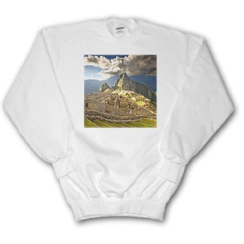 Danita Delimont - Machu Picchu - Machu Picchu, ancient ruins, Peru - SA17 HGA0029 - Howie Garber - Sweatshirts - Adult SweatShirt XL - Plate Cuzco