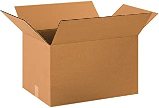 """product image for Partners Brand P201412 Corrugated Boxes, 20""""L x 14""""W x 12""""H, Kraft (Pack of 20)"""