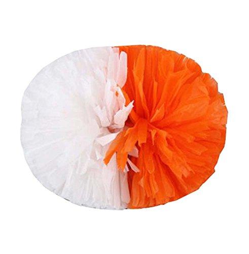 de poignée couleurs avec 2PCS Poms A6 Cheerleading doigt votre vives Protégez Style des BHqSS