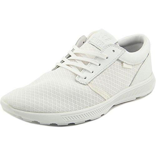 Supra Hammer Run, Unisex-Erwachsene Sneakers White-White