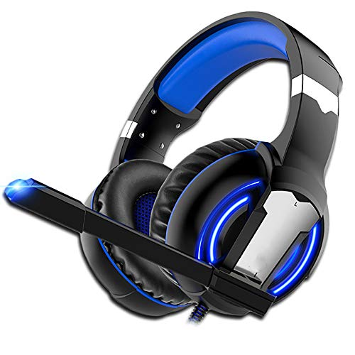 JYKSQ Gaming Headset PS4 Headphones Game Earphones Wired Bass Stereo Casque with Microphone for PS4 New Xbox One Laptop Tablet Gamer