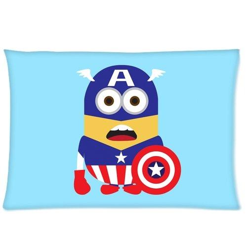 Minions Captain America Pillowcases 20x30 Inch