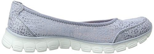 Blu 0 Punta Flex Blue 3 Ez Beautify Skechers Light Chiusa Donna Ballerine RYPnzxgW