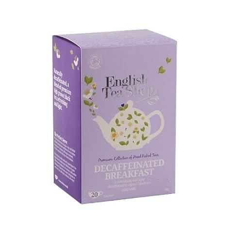 English Tea Shop - Englisch Breakfast (ENTKOFFEINIERT), BIO, 20 ...