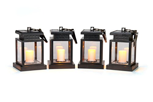 Set Solar Light Hanging (Trademark Innovations 5.6