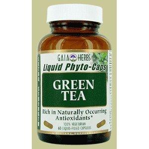 Thé vert - 60 caps, (Gaia Herbs)
