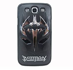 HJX Black S III i9300 Lovely 3D Batman Mask Inspiration Latest Trend Design Case Protector Cover for Samsung Galaxy S3 III i9300