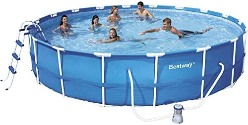 Piscina desmontable 549x107 cm.Bestway 56070: Amazon.es: Juguetes ...