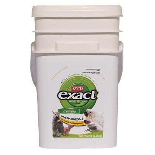Kaytee Exact Hand Feeding for Baby Birds, 22 lb bucket by Kaytee