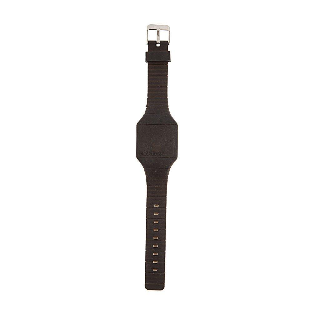 Claire s Accessories Niñas Blink Tiempo Negro LED Reloj: Amazon.es: Relojes