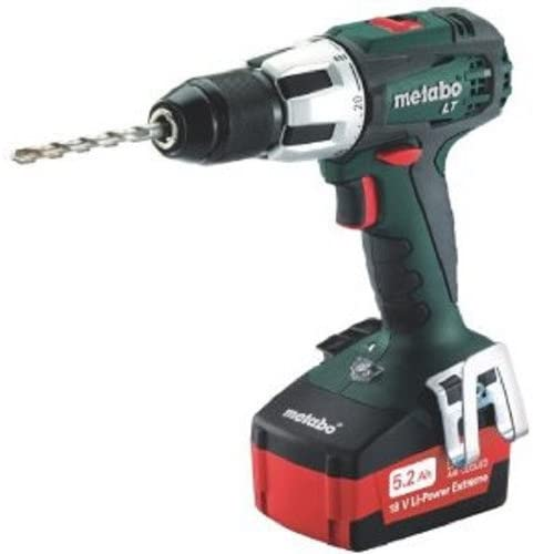 Metabo 602103520 SB18 LT 5.2 18V Cordless Lithium-Ion 1 2 in. Hammer Drill Kit