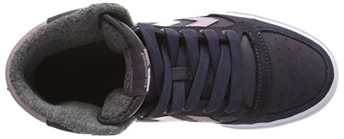 Hummel Stadil Oiled - Zapatillas de otra piel unisex Gris (Nine Iron)