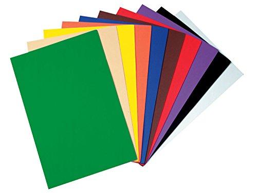 Wonderfoam Sheets - Creativity Street WonderFoam Peel & Stick Sheets, 12-inches x 18-inches, Assorted Colors, 10 Sheets (AC4306)