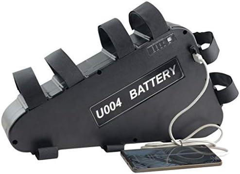 USBと48V大容量Ebikeバッテリー、スーパー容量ロングレンジ仕事、BMS保護委員会とのトライアングルフレーム電動自転車バッテリー,48V15AH