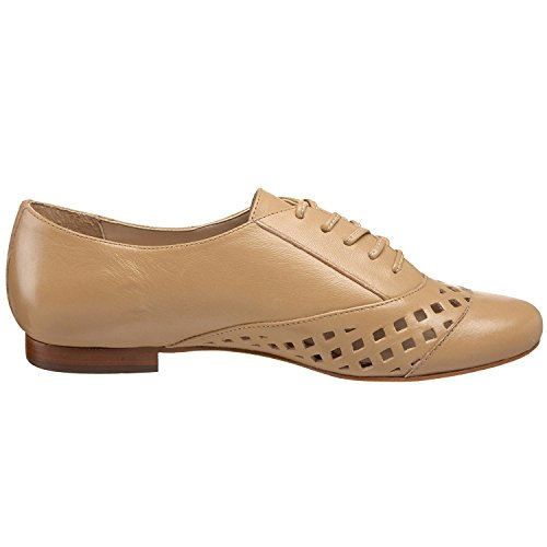 Boutique 9 Rising Oxford Para Mujer, Natural, 6 M Us Zapatos De Vestir Naturales Beige Lace Up