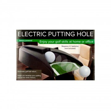 Indoor Golf Putting Hole, Practice Training Cup with Automatic Ball Return by RyanInLA (Image #1)
