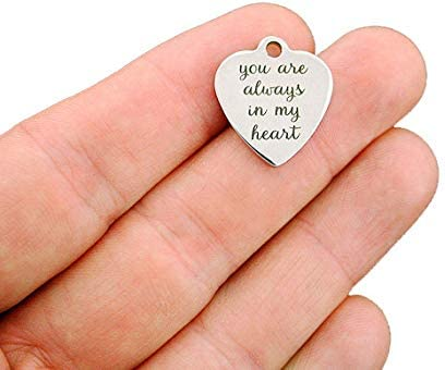 BFS3431 Mama Bear Stainless Steel Charms Smaller Size
