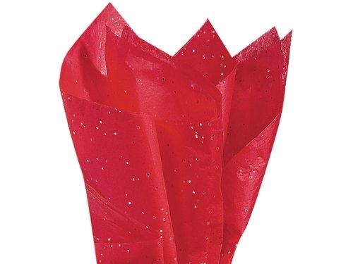 Holiday Gems Ruby - Ruby Red Gemstone Tissue Paper 20