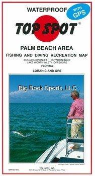 Top Spot Map N213 Palm Beach Area (Shopping Palm Beach West)