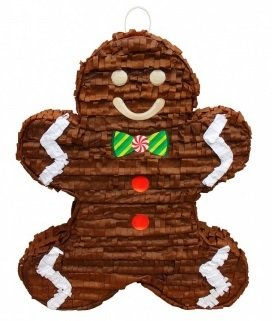 Christmas Gingerbread Man Pinata