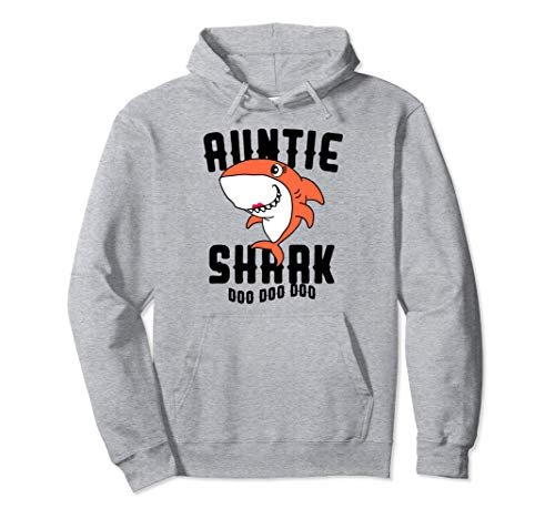 Auntie Shark Hoodie Mom Grandma Halloween Christmas Women for $<!--$34.99-->