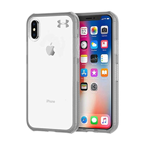 Under Armour UA Protect Verge Case for iPhone X - Clear/Graphite/Gunmetal Logo by Under Armour (Image #1)