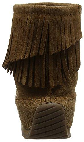 Emu Women's Avoca Moccasin Boots Brown (Chestnut) RFGu7uJq