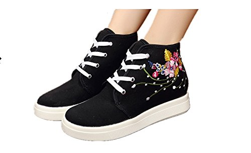 Tianrui Crown Women And Ladies Warbler Embroidery Casual Traveling Shoes Sneaker