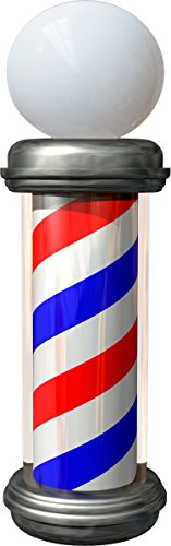 BARBER GLOBE STYLE WINDOW GRAPHIC product image