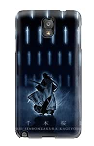 2729634K97829089 Protective Tpu Case With Fashion Design For Galaxy Note 3 (captain Byakuya)