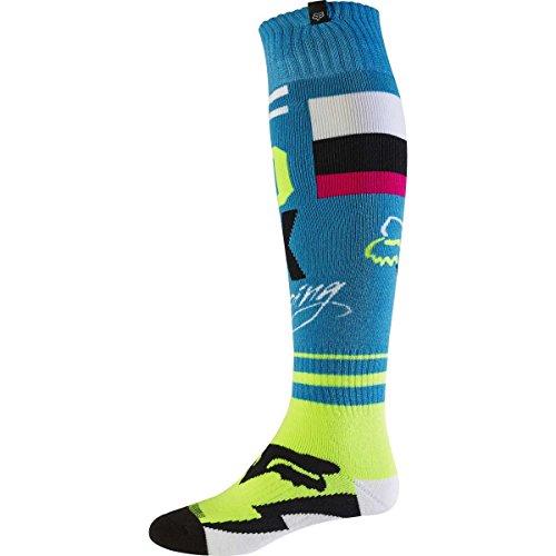 Fox 2017 Herren Motocross / MTB Socken - FRI ROHR THIN - teal: Größe Socken: M