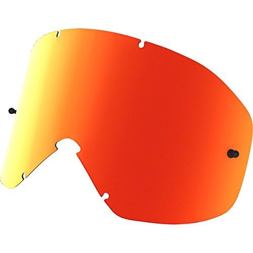 Oakley O2 XM Men's Replacement Lens (Fire Iridium) (Oakley Goggle Lens Replacement)