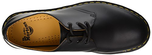 Smooth stringate 1461Z Scarpe Unisex Cherry Dr Adulto Martens Black Nero basse wYRx5Zq