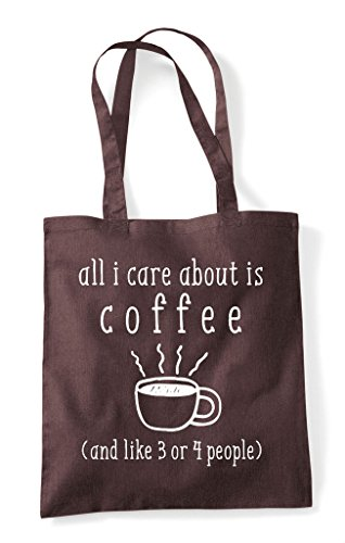 Or About Brown Care Tote I Bag All 3 Coffee Shopper Like People 4 Is And 18afq