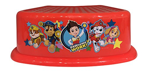 Paw Patrol PAWsome WORK ! Step Stool