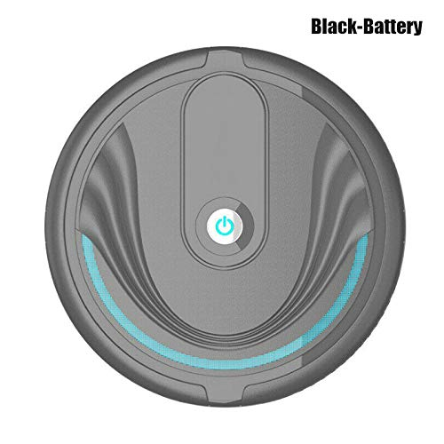 Leobtain Automatic Robotic Vacuum Cleaner High Suction Robot Vacuums Sweeper for Home Hardwood Floor Sweeping Carpet Pet…