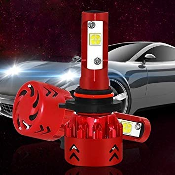 Uniqus 2 PCS Auto Car HB4 9006 25W 2500LM 6000K Pure White CREE-XHP50 LED Headlight Bulbs Conversion Kit, DC 9-36V