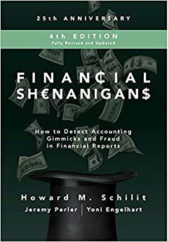 Descargar PDF Gratis Financial Shenanigans, Fourth Edition:  How To Detect Accounting Gimmicks And Fraud In Financial Reports