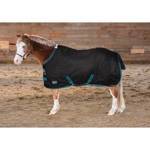 Pony Stable Sheet - Dover Saddlery Rider's International Pony Turnout Sheet, Size 58, Hunter/Navy