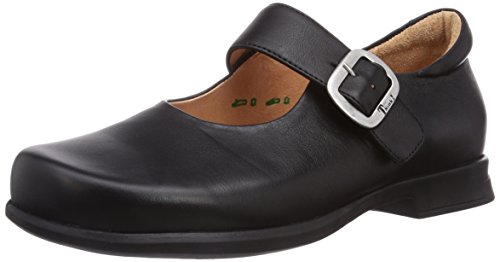 Synes schwarz Think At Stengt 00 Sort Ballerinas Pensa schwarz 00 Closed Women's Ballerinas Kvinners Pensa Black Frqdr0