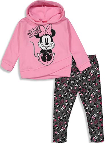 Minnie Mouse Toddler Girls' 2-Piece Fleece Hoodie & Legging Set