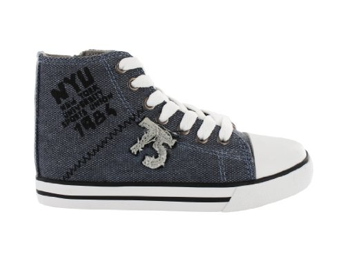 Lico Fly High 75 Sneaker Freizeitschuhe Kinder Schuh Freizeitsneaker blau 28