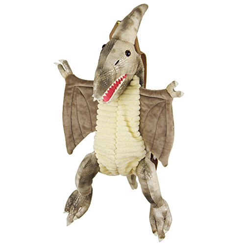 E-BNT Kids Dinosaur Backpack, Plush Cute Animal Children Bag for Boys and Girls ()