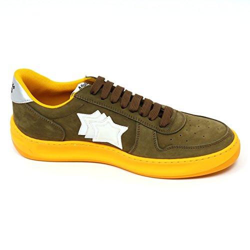Atlantic Stars D0896 Sneaker Uomo Rigel PCSA TE55 Scarpa Verde Shoe Man Verde Venta Barata 2018 Barato Conseguir Auténtica Tienda De Oferta Precio Barato Th1or7xi