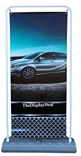 TheDisplayDeal Storefront Sidewalk Banner Poster Sign Holder double-sided Frame (71